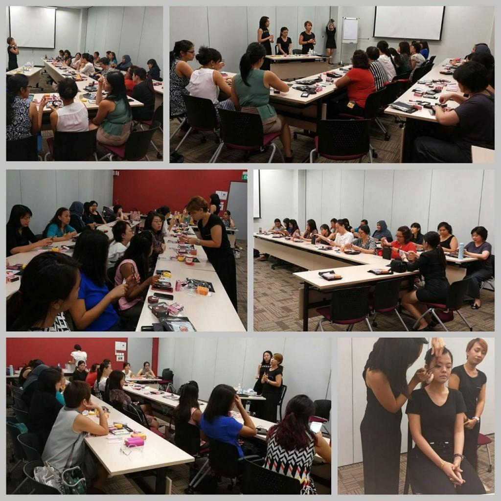 Makeup Courses Students Photo