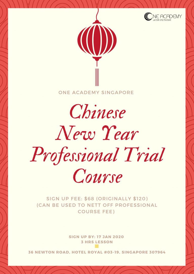 Chinese New Year Professional Trial Course